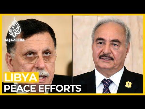 Libya peace efforts: Turkey and Russia hold talks