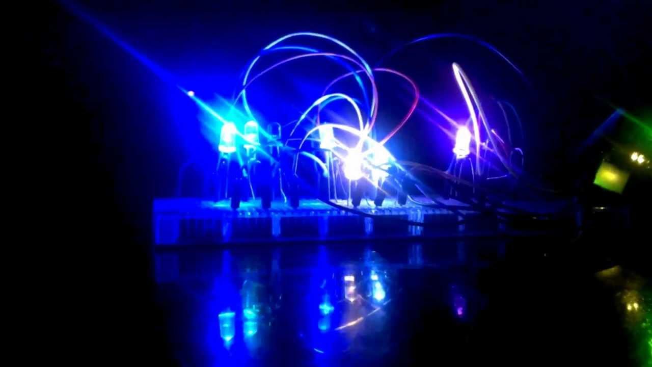 Arduino led s blink to music doovi