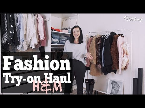 Fashion Try-on Haul H&M Herbst 2018 | Lookbook & OOTD