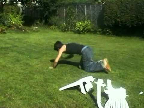Retro Rewind - Front Flip Through Garden Chair