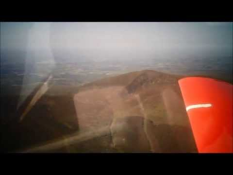 A flight in the BD5 with Howard
