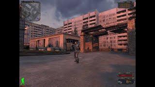 S.T.A.L.K.E.R.-Тень Чернобыля(билд 2203).Исследую уровни в билде.Посмотрел меню с выбором снаряжения