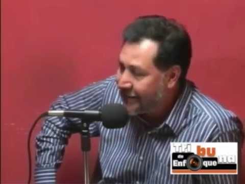 Tribuna de Enfoque, Gerardo Fernández Noroña con Carlos Andrade