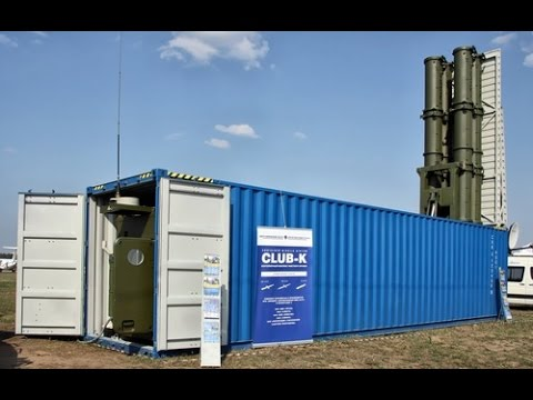 Concern Agat Russian 3m 54 Club K Container Missile