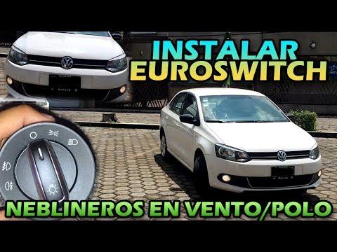 COMO INSTALAR EURO SWITCH EN VENTO / Jetta | #livandervw