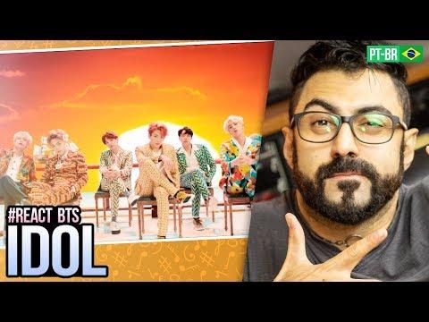REAGINDO a BTS 방탄소년단 IDOL  MV