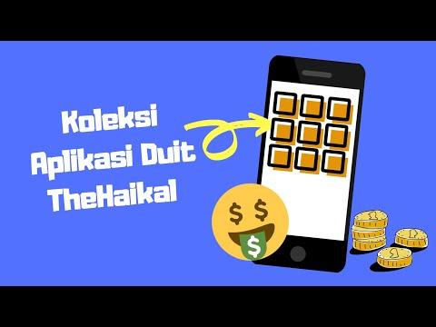 Koleksi Aplikasi Duit TheHaikal