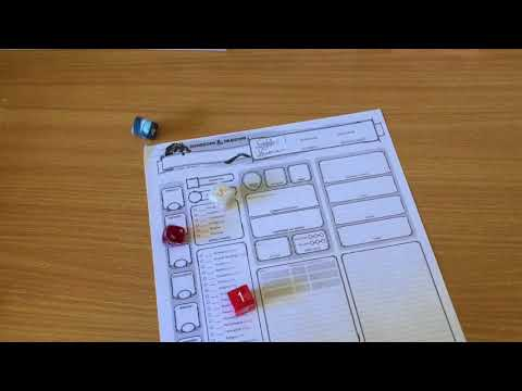 How to Build a D&D Character sheet #1(Basics)