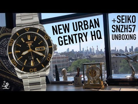 A Sneak Peek Of The Forthcoming Urban Gentry HQ - Seiko SNZH57K1 Unboxing & First Impressions