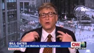 Bill Gates talks to CNN