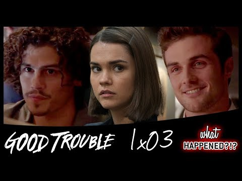 GOOD TROUBLE 1x03 Recap - Callie Seeks Advice From A Familiar Face - 1x04 Promo | What Happened?!
