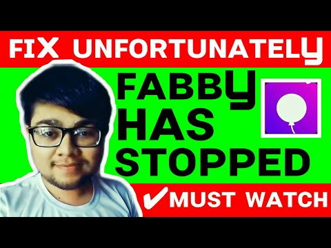 How To Solve Unfortunately Fabby Has Stopped Fabby App Problem