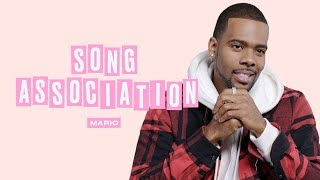 Mario Sings Drake, Usher, and Ashanti in a Game of Song Association | ELLE