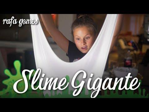 SLIME GIGANTE - A  MAIOR DA  MINHA VIDA RAFA GOMES