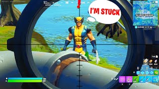 WEEK 6 WOLVERINE CHALLENGES : DEFEAT WOLVERINE *BEST METHOD* Fortnite