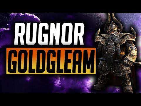 Rugnor Goldgleam Champion Spotlight! A great addition to the Dwarf Faction! | Raid: Shadow Legends