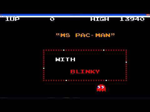 Namco Museum Gameplay Ms Pac Man In Full Screen