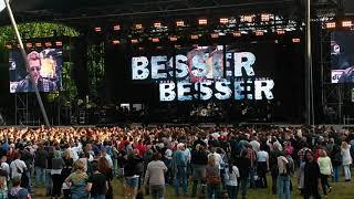 Peter Maffay live 2015 Berlin  Wuhlheide / Intro /  Niemals war es besser