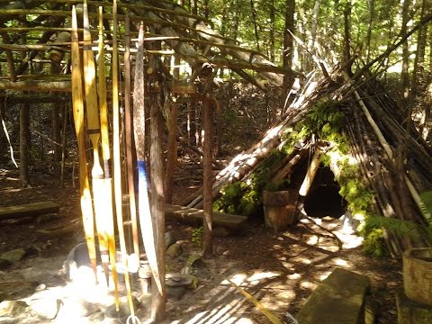 Primitive Bow Chat at the Fire Circle