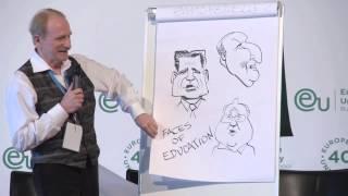 Kal Kallaugher Editorial Cartoonist for the Economist - European University