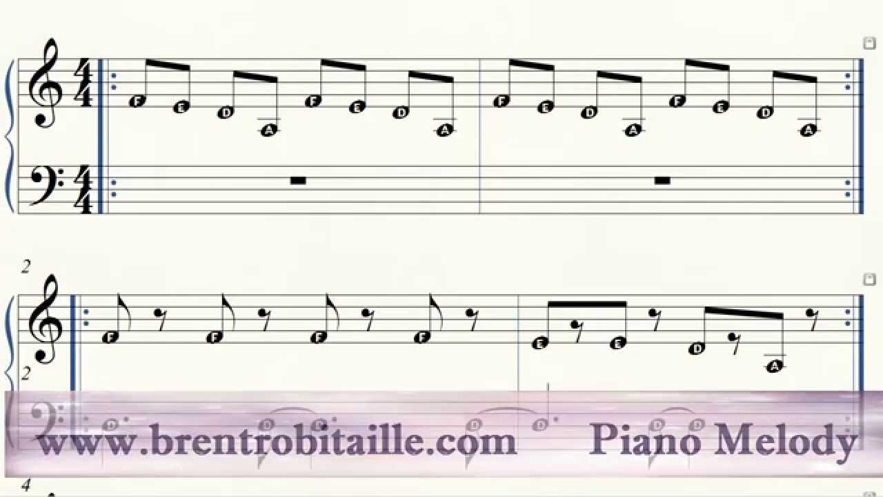 piano keys letters piano easy piano letter notes 13111 | maxresdefault