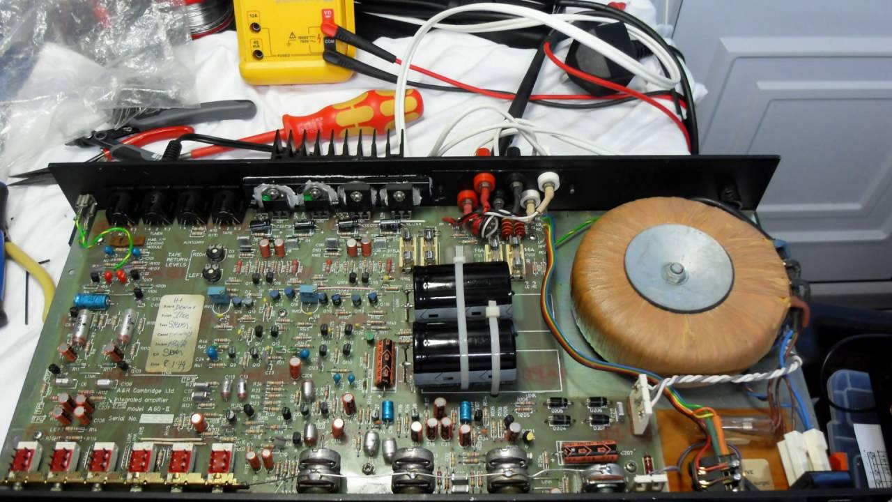 AR Cambridge A60 Amplifier Repair