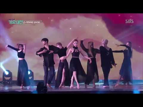 Jimin BTS Dance Martin Garrix & Bebe Rexha   In The Name Of Love  @ SBS Gayo Daejun 2016