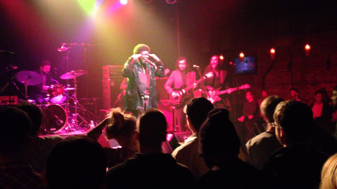 Charles Bradley At Vinyl Music Hall In Pensacola 1 2 15