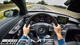 Mercedes-AMG C63 Coupe 2017 Edition 1 POV Test Drive & Sound
