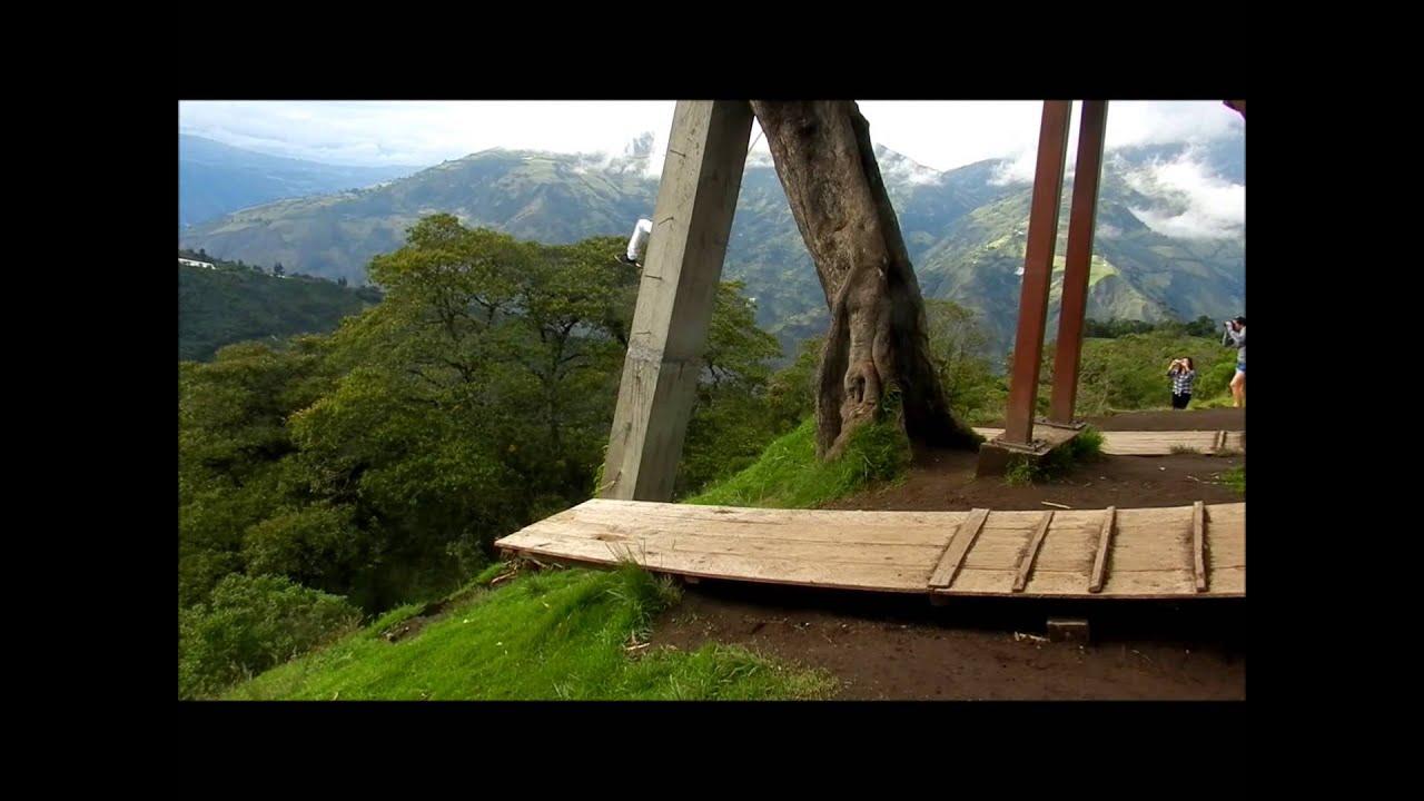 422b66526 La Hamaca Del Fin Del Mundo, Baños - Ecuador - YouTube