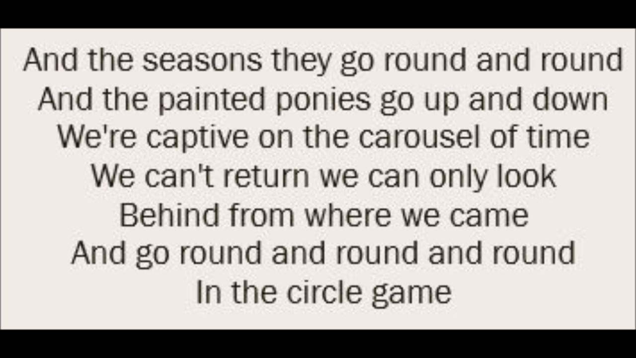The Cheetah Girls – Circle Game Lyrics | Genius Lyrics