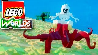 БЕЗБАШЕННЫЙ СКЕЛЕТ-НАЕЗДНИК | Lego Worlds