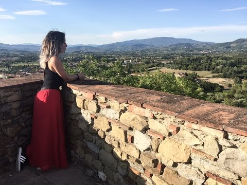 A Day in Arezzo, Italy