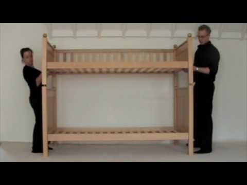 how to install a bunk bed 1