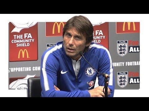 Arsenal 1-1 Chelsea (AFC Win On Pens) - Antonio Conte Post Match Press Conference - Community Shield