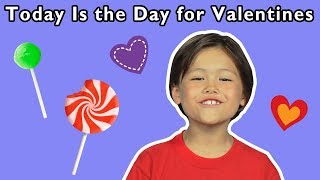 💕 Today is the Day for Valentines   Heart Songs for Kids   Mother Goose Club Songs for Children