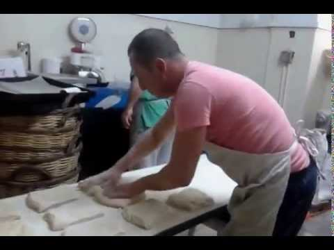 MASTER BAKER IN GREECE!!!!A unique way ... manufacture rustic ciabatta ........ by Alexander LIANOS