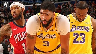 Los Angeles Lakers vs New Orleans Pelicans - Full Game Highlights | November 27, 2019 NBA Season