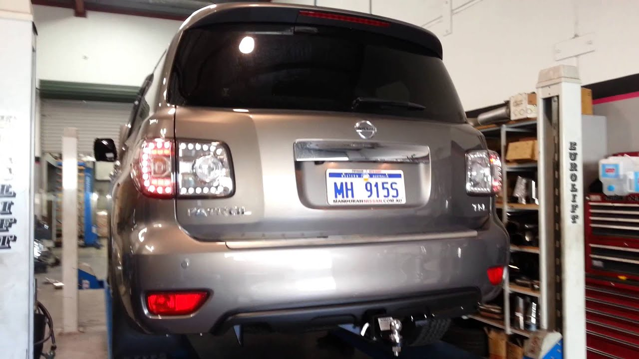 Nissan Patrol Y62 Xforce Exhaust - YouTube