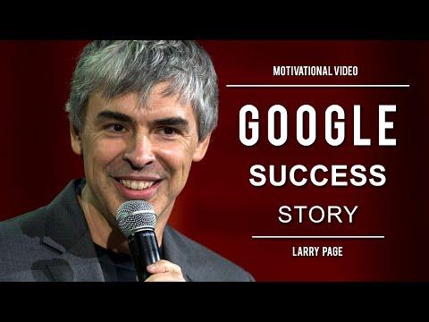Inspiring Google Story - Larry Page