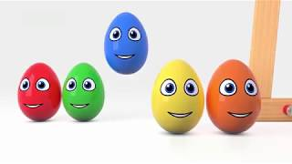 Развивающий мультик для детей про цвета. Учим цвета на русском