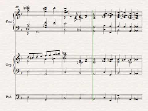 I Know That My Redeemer Lives Duke Street Piano Organ duet by Erik Kihss