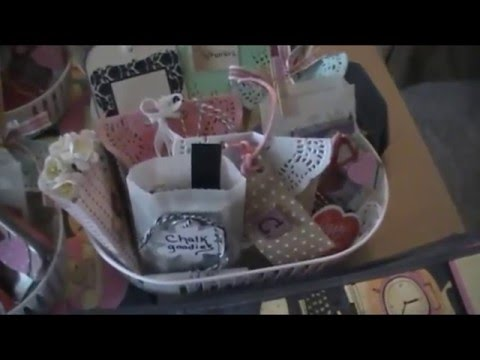 ScrapGals 2016 Retreat Goodie Bags & Partial Setup!1