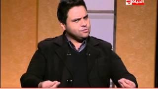 المفتش كرومبو ينتحل شخصية معتزالدمرداش في غياب عمرو الليثي (فيديو)