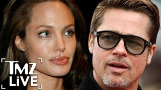 Angelina & Brad's Bitter Divorce | TMZ Live
