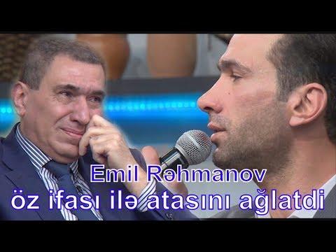 Emil Rəhmanov ifası ilə atasını ağlatdı - Kepez TV