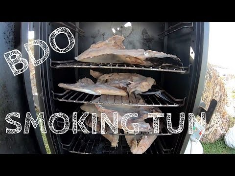 HOW TO SMOKE TUNA! SMOKE TUNA DIP RECIPE! BOYZ DAY OUT EP10