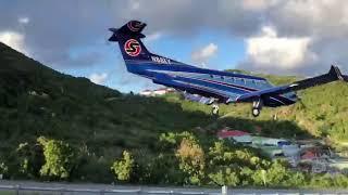 Sexy Baby Jet landing in Saint-Barts !