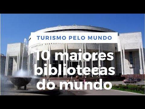 10 maiores bibliotecas do mundo