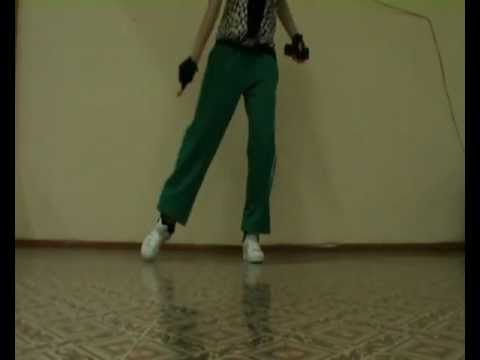 Urban Steps Combination for Footwork skills practice by EHABY.(House)